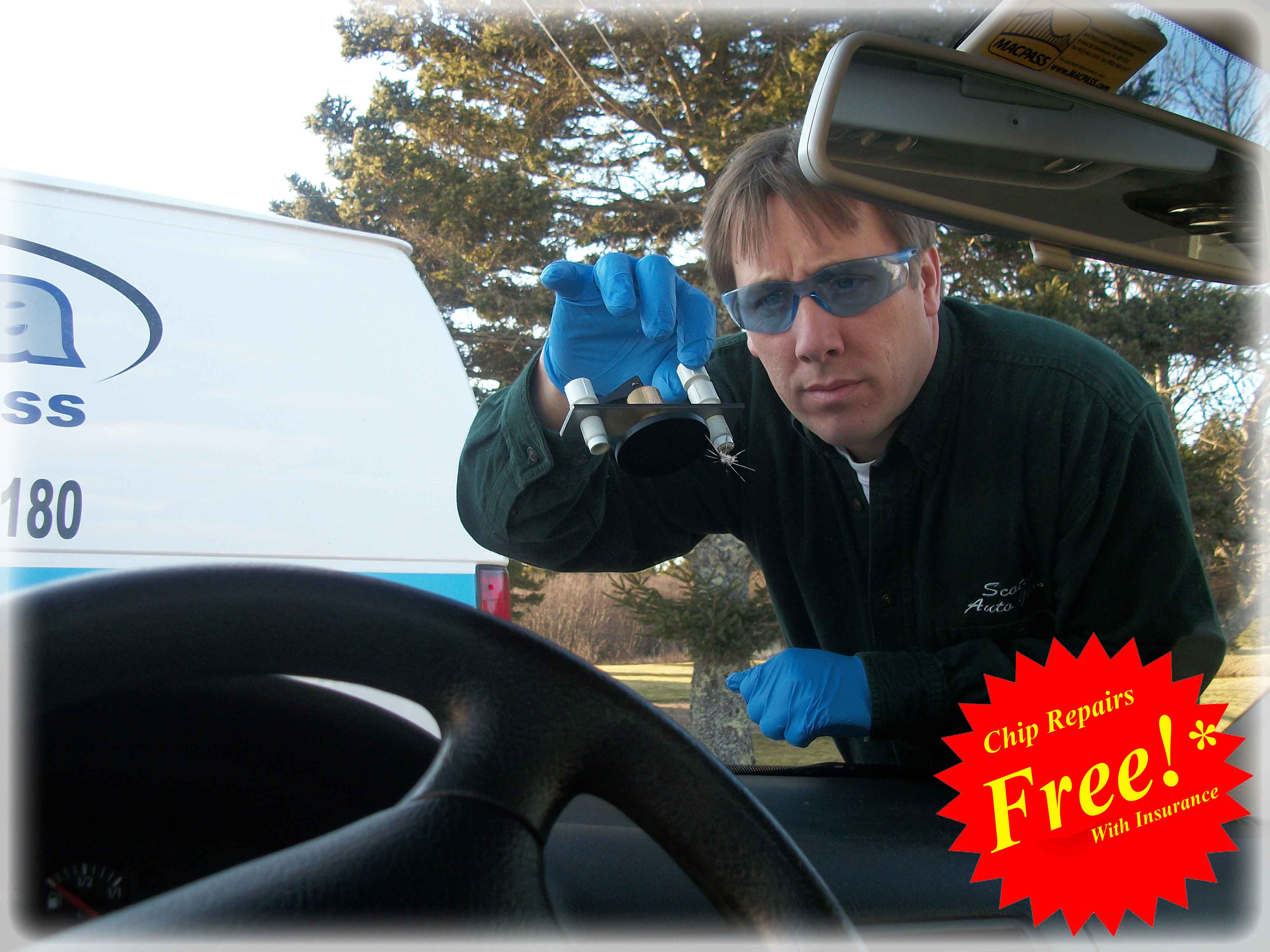 Free Windshield repairs with Comp Insurance